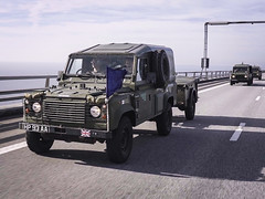 UK forces test military mobility en route to NATO exercise Trident Juncture 2018 (NATO) Tags: nato otan tr