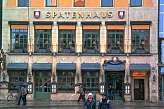 Munich's winter palette. (Inspired Snob) Tags: munich munchen bavaria germany max joseph nationaltheater residenz konigsbau palais toerringjettenbach maxjosephplatz residenzstrasse bayern konig maximilian i
