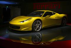 Ferrari (Paolo Dell'Angelo (JourneyToItaly)) Tags: museonazionaledellautomobile torino piemonte italia ferrari reflections thenationalautomobilemuseum turin piedmont italy