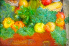 Autumn harvest (TAWPhotoArtistry) Tags: autumn fall colorful fruit vegetables photoart