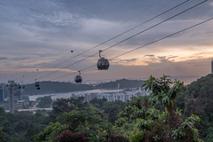 Cable car from Mt Faber to Sentosa (.John Wong) Tags: cable car from mt faber sentosa singapore