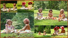 Kindergartenkinder im Schlosspark Arcen ... (Kindergartenkinder 2018) Tags: arcen schloss schlosspark limburg kindergartenkinder annemoni milina sanrike setina tivi annette himstedt dolls