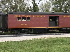 Fort Wayne NRHS Tool/Crew Car (primemover88) Tags: cuyahoga valley scenic railroad nickle plate nkp 765 steam passenger train