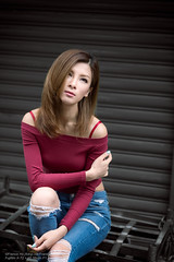 Fion (Francis.Ho) Tags: red fion xt2 fujifilm girl woman female femme lady portrait people beauty pretty lips eyes hair face chinese model elegant glamour young sensuality fashion naturallight cute goddess asian daylight sunlight outdoor