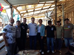 19/09/18 - Com Vinícius Medeiros, no Piquete Universitário do Parque Harmonia em Porto Alegre
