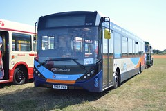 26153 SN67WVX (PD3.) Tags: adl enviro 200 mmc 26153 sn67wvx sn67 wvx portsmouth stagecoach bus buses hampshire hants england uk gosport lee solent stokes bay station fareham provincial society preserved vintage coach seafront sea front 2018