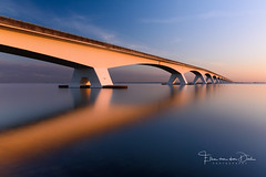 The Bridge (Ellen van den Doel) Tags: 2018 zonsopkomst landscape water reflectie nederland outdoor zee zeeland sun zon zonsopgang landschap kleur sea color sunrise reflection netherlands september