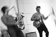 Harry and the Potters (radargeek) Tags: harryandthepotters oklahomacity library wizardwrock rock oklahoma downtown 2018 august guitar saxophone pauldegeorge joedegeorge harrypotter harry hogwarts flash