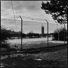 Grenzzaun3 (JK-SW) Tags: ddr brd zohnengrenze sbz border grenzzaun todesstreifen innnerdeutsche grenze hessen point alpha unüberwindbar wiedervereinigung herbst 89 geschichte