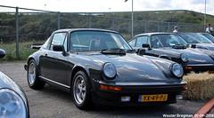 Porsche 911 SC Targa 1982 (XBXG) Tags: yx49pj porsche 911 sc targa 1982 porsche911 historic grand prix 2018 zandvoort nederland holland netherlands paysbas youngtimer old german classic car auto automobile voiture ancienne allemande germany deutsch duits deutschland vehicle outdoor