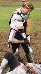 Lady Knight Victorious (Itinerant Wanderer) Tags: pennsylvania buckscounty wrightstown villagerenaissancefaire