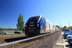 Hermann MO, USA (Paul Emma) Tags: usa missouri hermann railway railroad dieseltrain train amtrak 4618