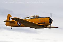 5951 Harvard KF183 (photozone72) Tags: duxford iwmduxford aircraft airshow aviation canon canon7dmk2 canon100400f4556lii 7dmk2 airshows harvard yellow