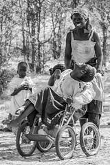 Anguish (stevegilliesphotography) Tags: children people zimbabwe anguish culture frustration hiddenchilden life poverty travel wheelchair matabelelandsouth zw blackandwhite monochrome