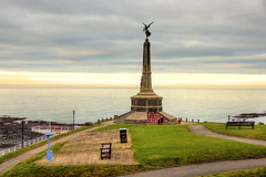 War memorial in Aberystwyth castle (Mabjack) Tags: mabjack aberystwyth warmemorial cardiganbay ceredigion sea
