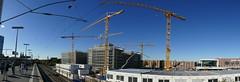 Blick auf die Messehallen (rechts im Hintergrund) (rainer.marx) Tags: photokina köln lumix fz1000 leica panasonic panorama