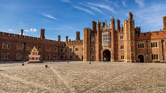 Hampton Court Palace (Ian Emerson (Thanks for all the comments and faves) Tags: henryviii palace london england beauty home historical historic heritage thisisengland architecture windows arches sunlight shadows