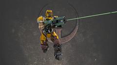 SLIPGATE MARINE (IAmDest) Tags: lego moc spacemarine ldd model scifi videogame marine soldier ranger quake actionfigure person shooter figure champion quakechampions quake1 gun weapon railgun trooper