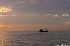 Llegan con sus capturas (josmanmelilla) Tags: melilla mar amaneceres amanecer sony sol pwmelilla pwdmelilla flickphotowalk pwdemelilla agua nubes