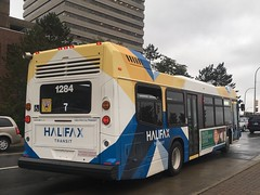 Newest Bus In Halifax! (The Halifax Transit Fan!) Tags: hfxtransit1284 hfxtransitroute7 scotiasquare transitphotography busphotography hfxtransit transitvehicle transitbus transit bus canadiantransit publictransit canadianpublictransit halifaxtransit