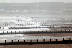 Once More Unto The Beach (PeskyMesky) Tags: aberdeen aberdeenbeach storm callum groyne landscape scotland canon canon6d