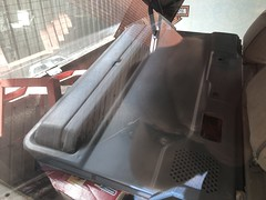 Items in the boot. (andrew edgar .......) Tags: range rover silver v8 blacktown nsw australia