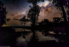 stars after the rain (andrew.walker28) Tags: rain reflections milky way galactoc centre center core starlight night sky long exposure darling downs queensland australia
