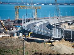 M1 20180501 2 (romananton) Tags: крымскиймост керченскиймост kerchstraitbridge crimeanbridge bridge мост стройка строительство крым construction constructing