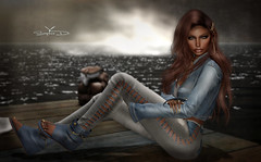 # ♥657 (sophieso.demonia) Tags: besom blueberry miss chelsea mosquitos way pose fair vanity event artis