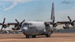 Royal Netherlands Air Force Lockheed C-130 H-30 Hercules G-273 (benji1867) Tags: royal netherlands air force lockheed c130 h30 hercules g273 riat riat2017 riat17 international tattoo rnlaf dutch holland sqn squadron 336sqn 336 sudore ac pulvere eindhoven eheh airshow show demo uk gbr england europe transport transportation cargo tactical airlift