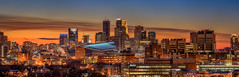 Minneapolis Panorama (Paul Domsten) Tags: minneapolis minnesota pentax cityscape lowlight sunset panorama ids capella wellsfargo usbankstadium vikings att foshay hcmc
