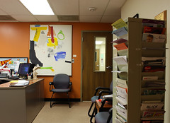 wcowley_Porter_flex_3 (wctres) Tags: pittsburg state university gorillas kansas porter department art building office faculty business college artwork staff