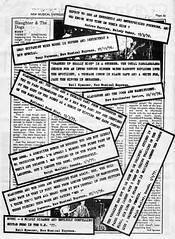Press cuttings.... (stillunusual) Tags: manchesterrains robgretton slaughterandthedogs slaughterthedogs fanzine musicfanzine punkfanzine punkzine punk punkrock newwave 1970s 1977