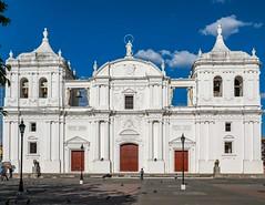 Basilica Catedral de la Asuncion, Leon, Nicaragua (Jill Clardy) Tags: 2018 cruise ncl norwegiancruiselines repositioning basilica catedral de la asuncion leon nicaragua church cathedral 201804199l8a3050