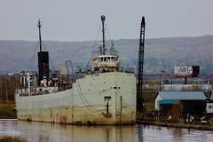 Laker J B Ford (ironmike9) Tags: pier jbford laker ship vessel duluthmn harbor port lakesuperior greatlakes lake water