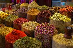 Spices souk, Dubai (Bokeh & Travel) Tags: spices souk dubai united arab emirates uae pov dof colorful beautiful tea market creek