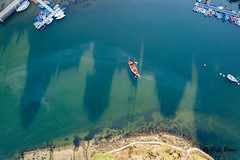 DJI_0026-2 (gael.lebrun56) Tags: bridge brittany bretagne pont suspendu sea mer marée drone