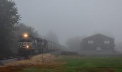 Norfolk Southern led  train at Hudson Indiana (Matt Ditton) Tags: norfolk southern hudson indiana train railroad
