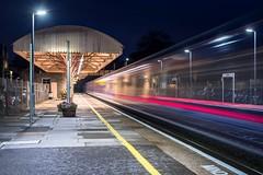 Entropy on All Hallows' Eve (Nodding Pig) Tags: yatton railway station train northsomerset england greatbritain uk 2018 hst highspeedtrain intercity125 greatwesternrailway gwr halloween