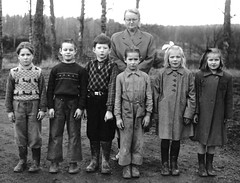 Group photo (theirhistory) Tags: boy children kids girl jumper jacket shirt shoes wellies coat rubberboots