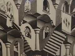 Convex and concave; M. C. Escher; 1955 (M_Strasser) Tags: escher mcescher olympus olympusomdem1 holland netherlands