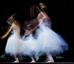 ballet in white (non stop creations- Sherry Landon) Tags: essenceofdance white texture dancers ballet motion blur sherry landon nonstopcreations