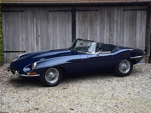 Jaguar E-Type 4,2 Litre OTS (1968)