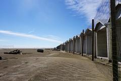 Lido 01 (Bosc d'Anjou) Tags: venice lido italy beach sand fence hut cabana