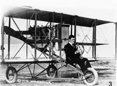 --lincoln beachey pilot (San Diego Air & Space Museum Archives) Tags: aviation aviator lincolnjbeachey lincolnbeachey beachey aircraft airplane biplane