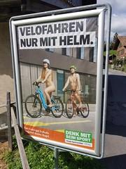 Wilderswil scenes 132 (SierraSunrise) Tags: europe switzerland wilderswil sign bicycle humor