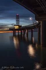 Burlington Pier Sunrise2 (Bill McDonald 2016) Tags: sunrise brant burlington pier loake ontario canada september early 2018 fall vivid lake lakeontario brantstreetpier dawn