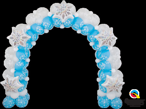 Sparking Snowflake Arch