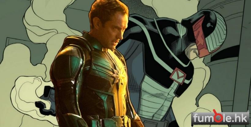 偷偷告訴你,裘德洛在《驚奇隊長》演的其實是反派,並不是Mar-Vell!