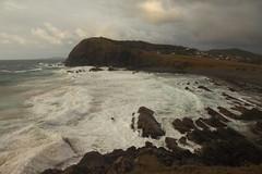 Rough Seas at Crescent Head (Darren Schiller) Tags: crescenthead newsouthwales shore coast sea waves swell foam beach headland cloudy rocks ocean splash
